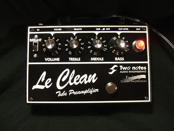 "Preamp ""The clean"""